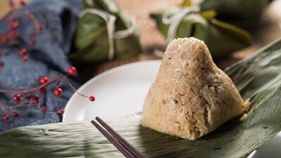 栗子蛋黃粽