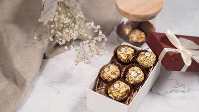 自製金莎巧克力
