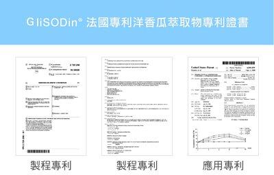 glisodin 法國專利洋香瓜萃取物專利證書