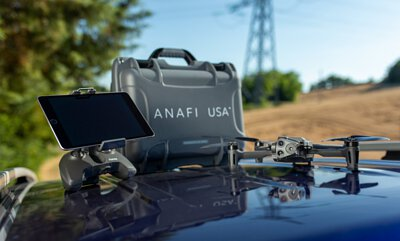Anafi USA, 專為第一響應人員和企業專業人士設的紅外線無人機