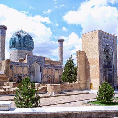 中亞五國,哈薩克,吉爾吉斯,土庫曼,塔吉克,烏茲別克,世界文化遺產