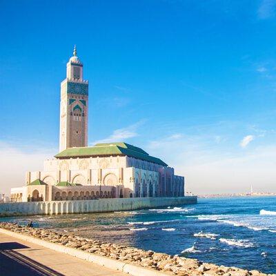 摩洛哥,卡薩布蘭加,清真寺