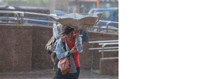 輕易被吹翻的便宜傘