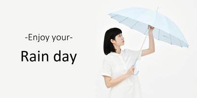 選對雨傘 猶如濾鏡般的美