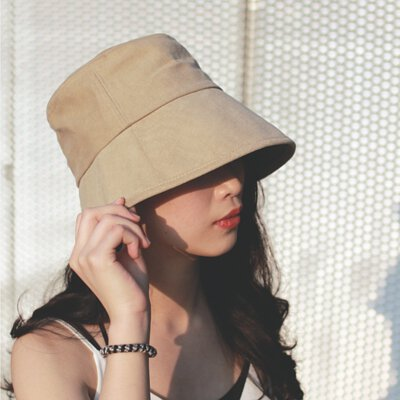 OMBRA 純色遮陽盆帽