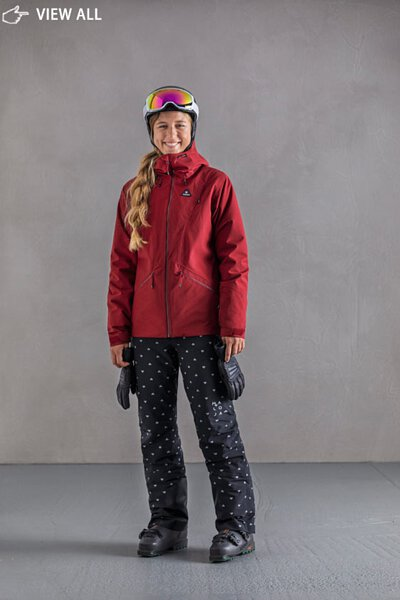 【MALOJA】女防水透氣保暖二件式連帽外套