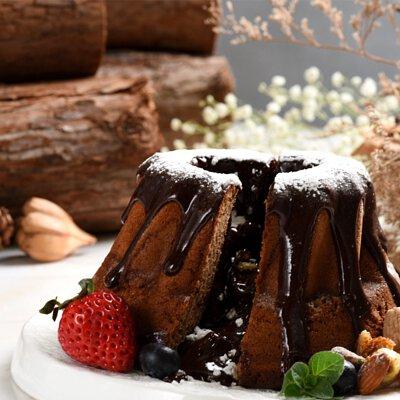 富士山果礦蛋糕