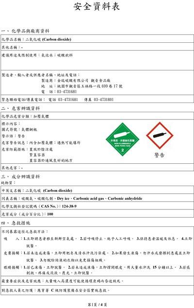 SDS,食用級CO2