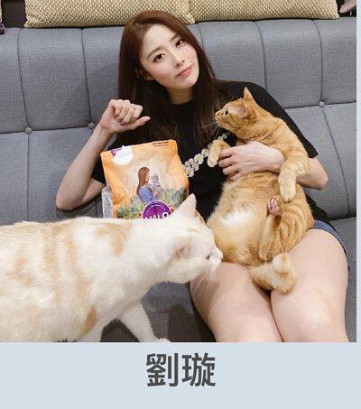 劉璇推薦貓飼料