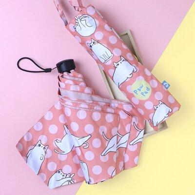 Rainbow House 晴雨傘 肉肉的姿態 防風 防曬 大傘面 貓咪 肉球 插畫家 提袋式傘袋