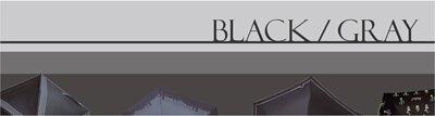 Rainbow House 晴雨傘 黑灰系 BLACK & GRAY