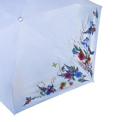 Rainbow House 晴雨傘 春神的詩篇 自動傘 安全開收 押花 壓花 提袋式傘袋