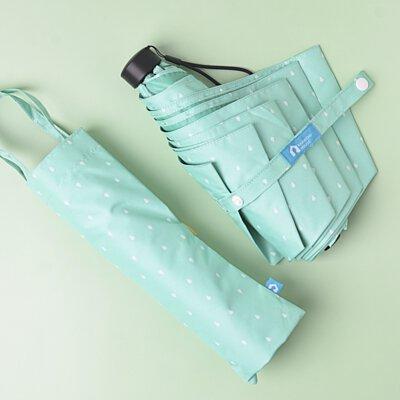 Rainbow House 晴雨傘 馬卡龍物語 輕量 防風 提袋式傘袋 加長中柄