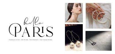 用飾品打造毫不費力的法式穿搭I Violet White 時尚輕珠寶
