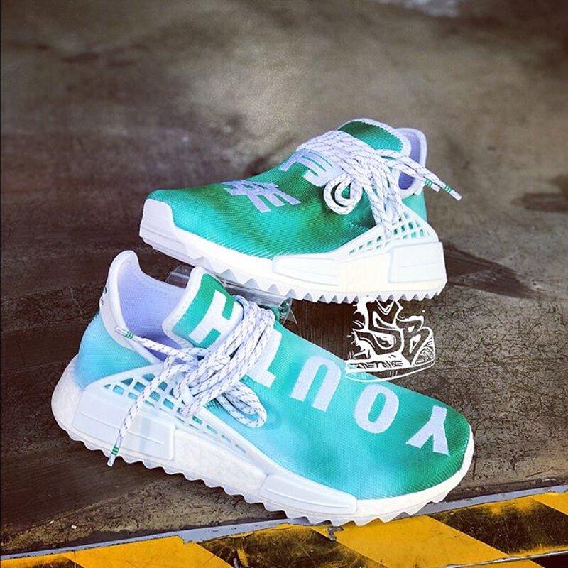 Adidas Pharrell NMD HU China Pack Green