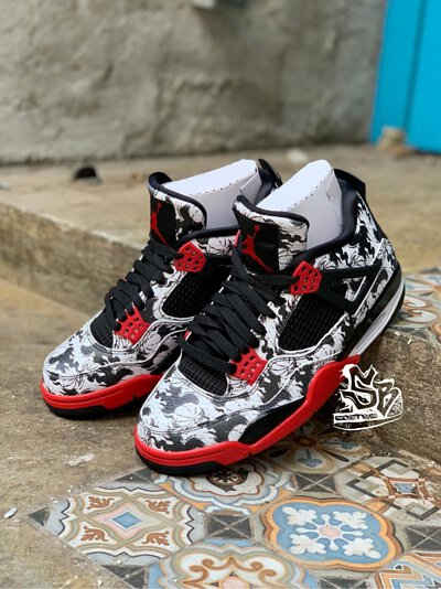 Nike Air Jordan 4 Tattoo