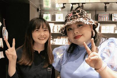日本藝人渡邊直美到來好買台灣文創商品及台灣特色紀念品
