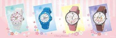 迪士尼櫻花季手錶