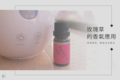 玫瑰草精油的香氣應用