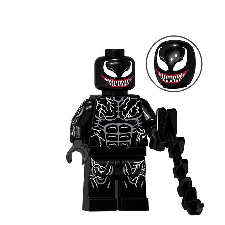 Phage inspired by Marvel Spiderman Venom LEGO Building Toys CUSTOM