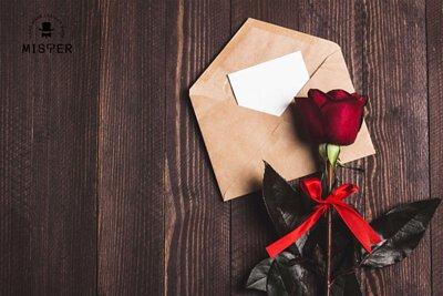 Mister 情人節禮物 情人節卡片 手作禮物 手作卡片 聖誕節禮物 結婚紀念日禮物 生日禮物 送禮