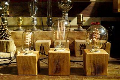 木客微光 手作桌燈 聖誕節禮物 結婚紀念日禮物 生日禮物 送禮 情人節禮物