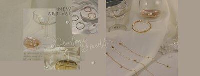 New in 天然寶石珍珠手環鍊|Miestilo Jewelry設計師輕珠寶品牌|舒飾質感每一刻