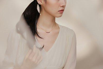 秘密盼望 白鋼項鍊|Miestilo Jewelry設計師輕珠寶品牌|舒飾質感每一刻