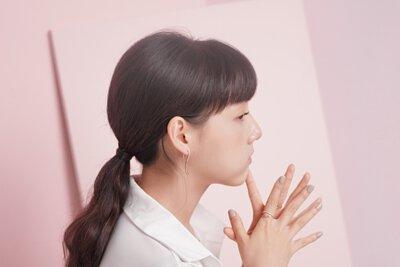 粼粼。悠遊 波浪不對稱耳環 Miestilo Jewelry設計師輕珠寶品牌 舒飾質感每一刻