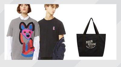 ACIDE Maison Kitsune T-shirt +Tote Bag