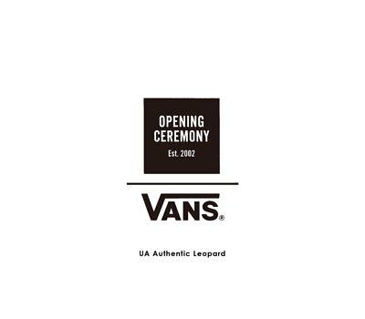 Vans X Opening Ceremony UA Authentic Leopard