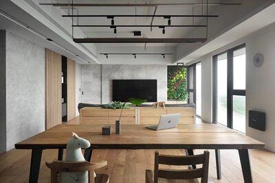 有木, 原木餐桌實例