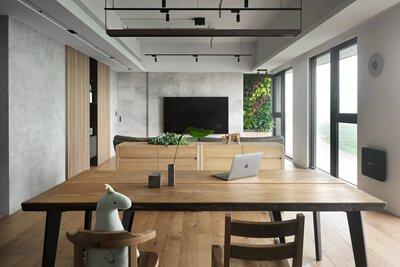 非洲柚木一枚板實木餐桌