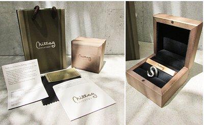 mittag jewelry|手工木製珠寶盒品牌包裝(戒指、手鍊、耳環、項鍊專用)