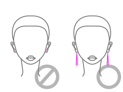 mittag jewelry教您短臉的耳環穿戴方法