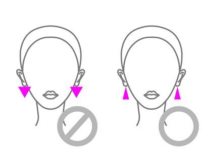 mittag jewelry教您瓜子臉的耳環穿戴方法