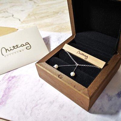 【換個心情】櫻桃珍珠項鍊mittag jewelry銀飾飾品,反璞歸真忠於自我,第二人生紀念。