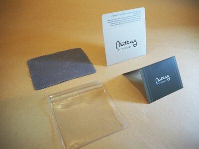 環保包裝:拭銀布+保卡+夾鏈袋
