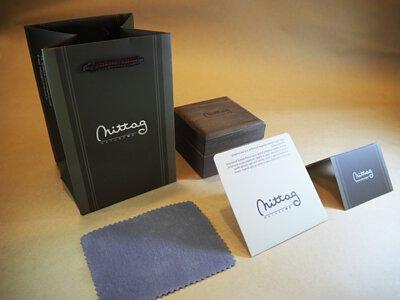 mittag jewelry|送禮包裝:拭銀布+保卡+品牌包裝盒+品牌提袋