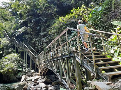 台灣宜蘭林美石磐步道