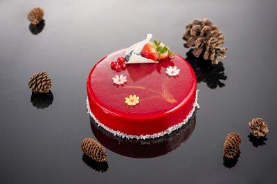 繽紛花園生日蛋糕