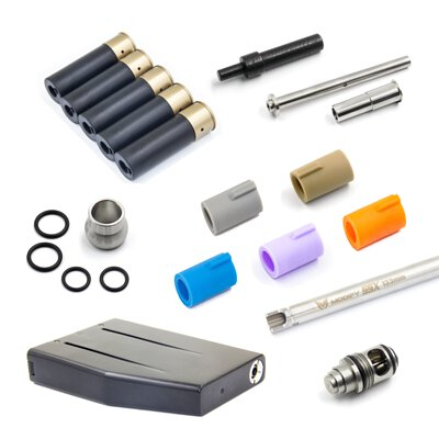 modify-airsoft-gas-blow-back-upgrade-parts-such-as-hop-up-bucking-inner-barrel-and-more