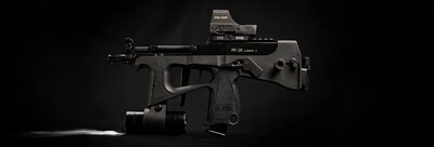 modify-airsoft-gas-blow-back-pp2k-black-version-with-flashlight-and-scope