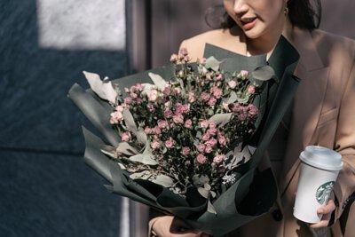 W/F Valentine's 乾燥玫瑰系列