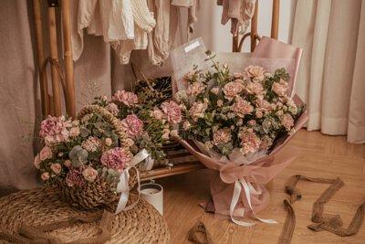 TENDER 康乃馨鮮花系列