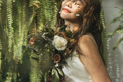 永生捧花系列 Preserved Flower Bridal Bouquet
