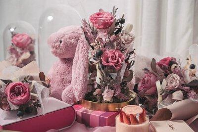 莓果塔系列永生花