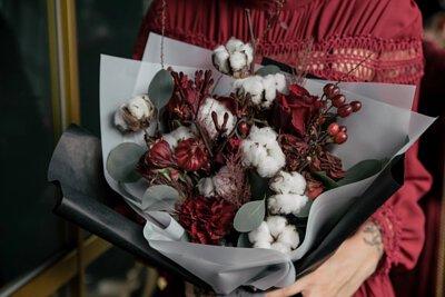 棉花系列鮮花