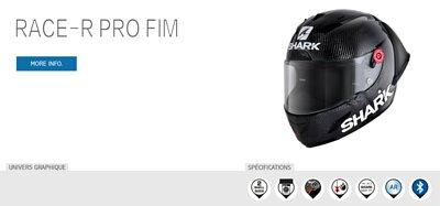 SHARK Race R Pro FIM