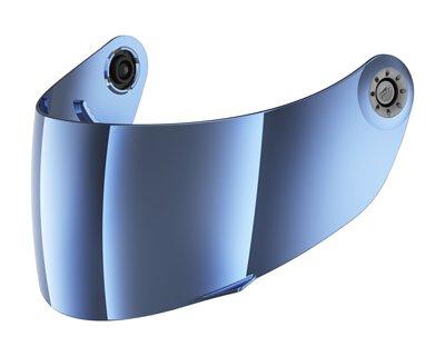 SHARK VISOR MIRRORED BLUE